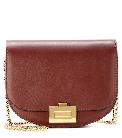 Box With Chain leather shoulder bag