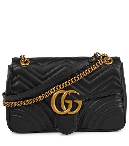 GG Marmont Medium matelass� leather shoulder bag