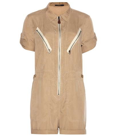 Utilitarian playsuit