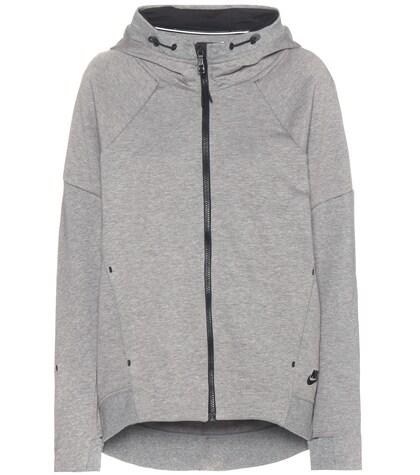 nike female 45906 nike tech fleece cottonblend jacket