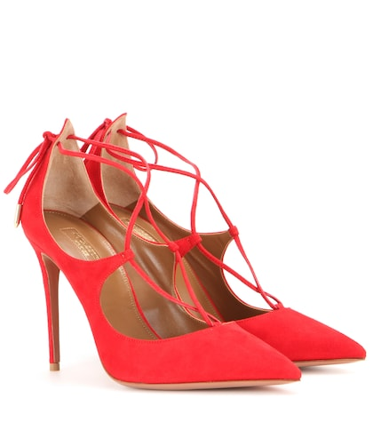 Christy suede pumps