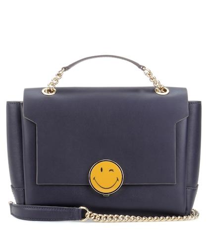 anya hindmarch female bathurst chain leather crossbody bag