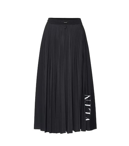 VLTN stretch jersey skirt