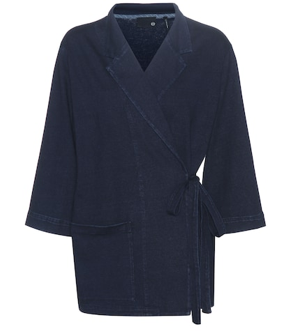 ag jeans female lepi cottonjersey jacket