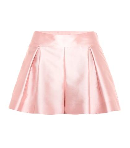 Plissee shorts