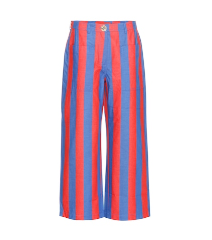 tommy hilfiger female striped jeans