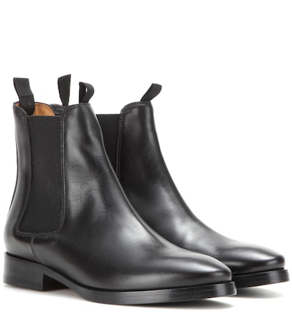 Photo of Bess Leather Chelsea Boots Acne Studios online