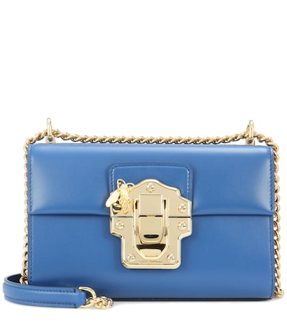 dolce gabbana female lucia small leather shoulder bag