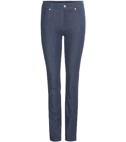 7 for all mankind female kimmie straight midrise jeans