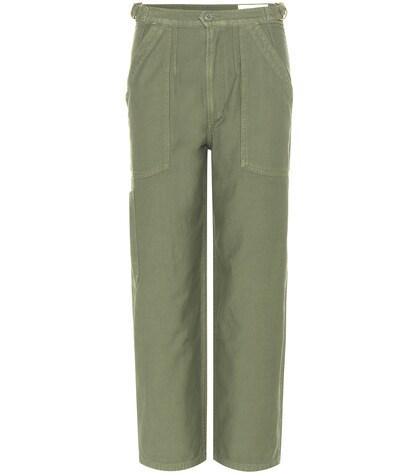 Pantalon cargo en coton