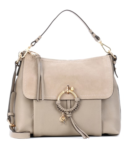 Joan Large leather shoulder bag