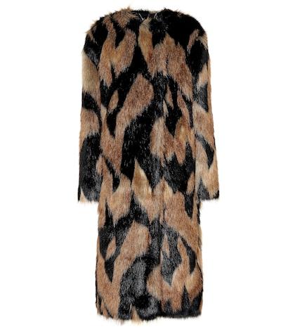 GIVENCHY | Faux fur coat | Goxip