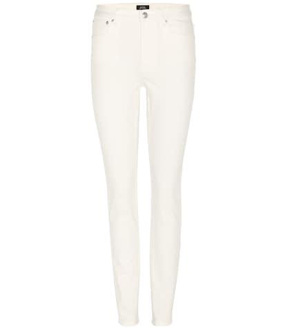 apc female high standard skinny jeans