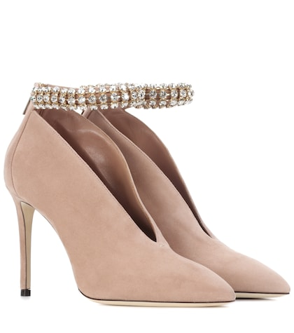 Lux 100 suede pumps
