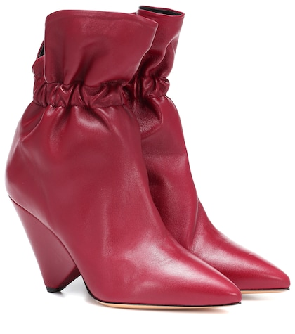 Lileas leather ankle boots