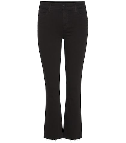Selena Mid-rise Cropped Skinny Jeans