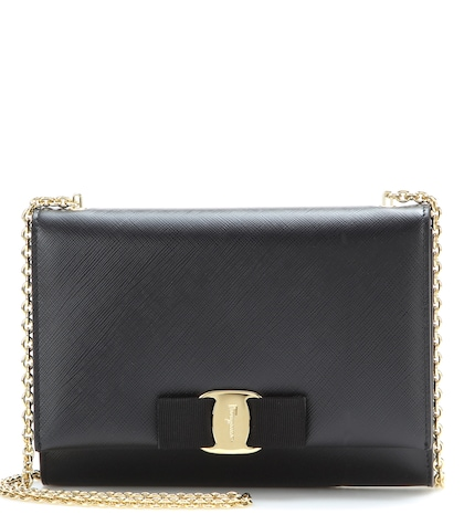 Ginny Small Leather Shoulder Bag