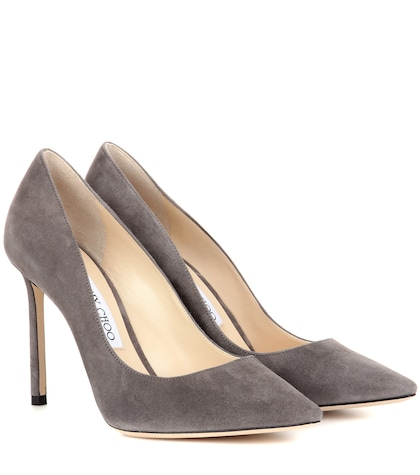 jimmy choo female exclusive to mytheresacom romy 100 suede pumps