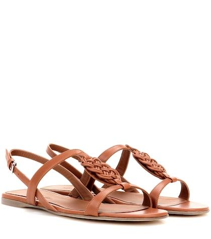 Kaila Leather Sandals