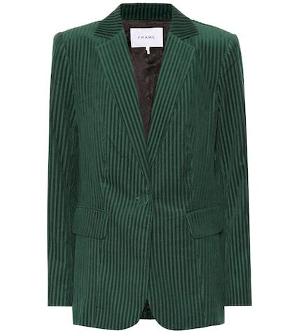 Classic corduroy blazer