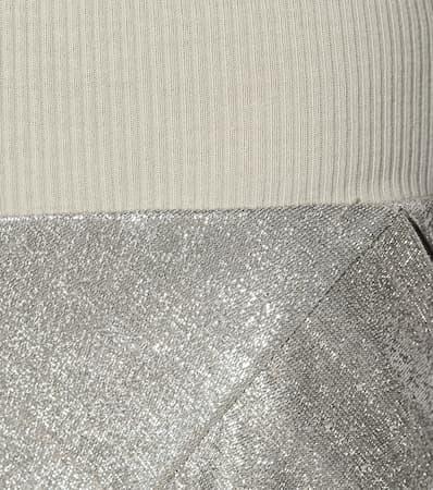 Billig Verkauf Freies Verschiffen 100% Original Zum Verkauf Rick Owens Hose Mit Weitem Bein Aus Lamé Pearl Billig Größte Lieferant Sie Günstig Online xN0o67Hq