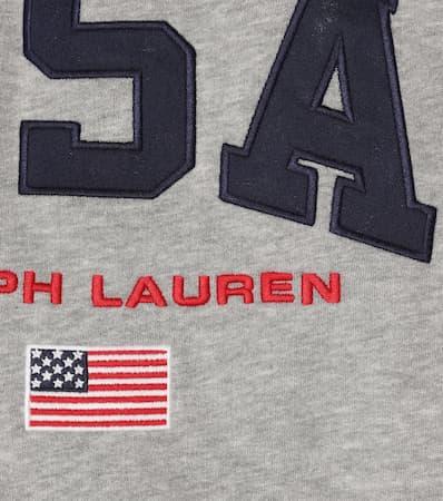 Aus Aus Jersey Lauren Polo Ralph Polo Jersey Besticktes Ralph Grey Lauren Polo Sweatshirt Grey Besticktes Sweatshirt Ralph nqWYSABP6A