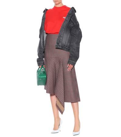 Balenciaga Bedrucktes T-shirt Aus Baumwolle Vermilion Spielraum Ansicht Billig Footlocker Günstig Kauft Niedrigen Versand Rabatt Billigsten EFz4hcT