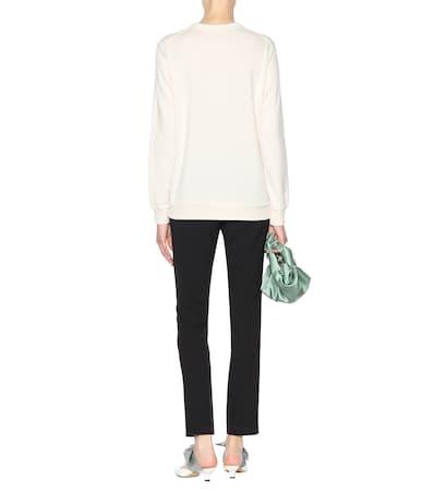 Aus Cream Sweatshirt Und Merris The Merris Sweatshirt Und The Aus Wolle Row Row Baumwolle Wolle 6qdw6