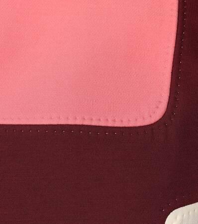 Valentino Minikleid Aus Wolle Und Seide Rubino/shadow Rosa/ Light Ivory Footlocker Online U7BCW7pmu