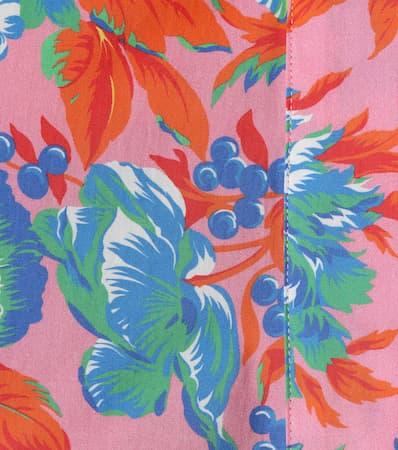 Bedruckte Bluse Mehrfarbig Msgm Msgm Aus Baumwolle Aus Bluse Bedruckte w85q8rg