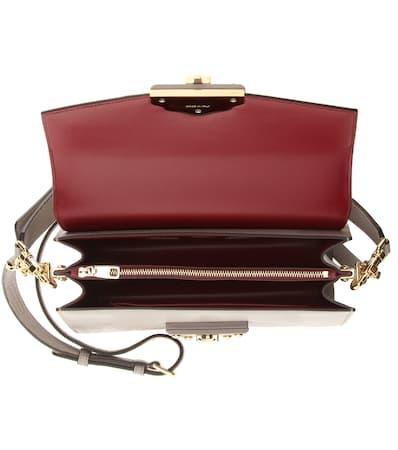 Dolce & Gabbana Schultertasche Lucia Aus Leder Greige Freies Verschiffen 2018 Neueste Online-Shopping Mit Mastercard Online-Shop aNEEoVgf1
