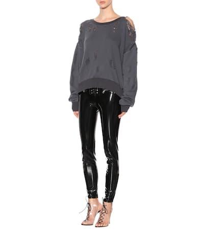 Unravel Sweatshirt Aus Baumwolle Antracite Zuverlässig Günstiger Preis QoNz1d9Hb