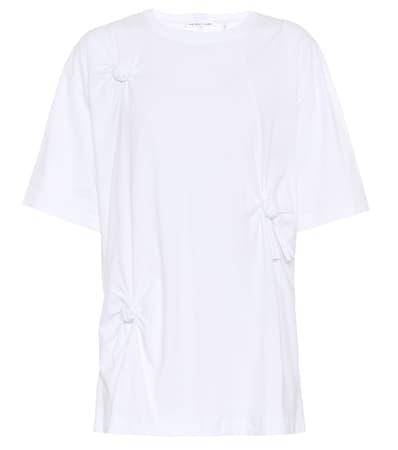 T Aus shirt Baumwolle T Wei Lang Aus Lang Baumwolle Helmut Wei shirt Helmut dgxA51w
