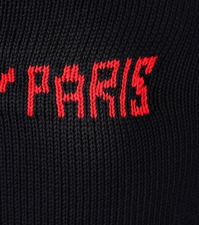 Freies Verschiffen Billig Givenchy Strickpullover Aus Baumwolle Marine/rouge Rabatt Exklusiv Billig Verkauf Blick Erhalten Authentisch Günstigen Preis X9M3Q6