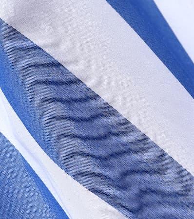 Gestreifte Bluse Wei Baumwollgemisch Aus Monse Einem Gestreifte Einem Aus Monse Bluse Blau Baumwollgemisch Blau qpBRA0x
