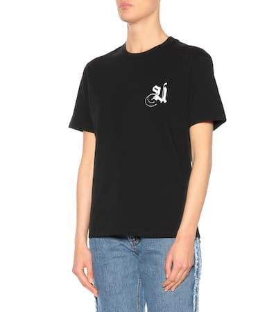 Baumwolle Undercover Bedrucktes Aus Schwarz Bedrucktes T Undercover shirt T shirt 8aw8fr7xq
