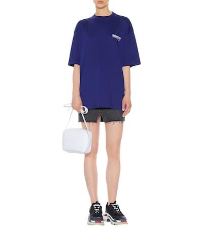 Balenciaga shirt Pacifique T Bedrucktes Baumwolle Balenciaga Bedrucktes Aus SvxTSwr7q