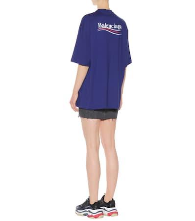 Aus Balenciaga Bedrucktes Balenciaga Baumwolle Pacifique T Bedrucktes shirt O41aq4