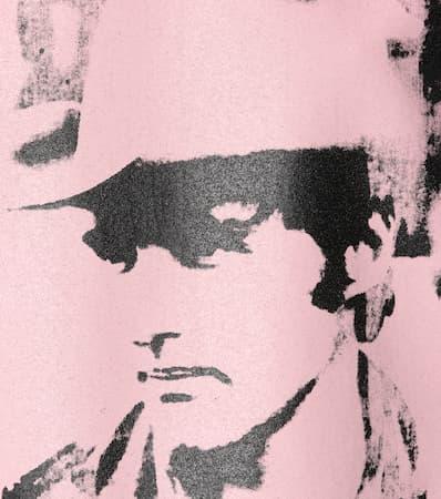 T Zephyr Baumwolle Aus Klein Bedrucktes Schwarz Calvin 205w39nyc shirt tS6Aqw