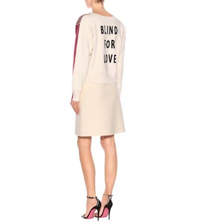 Gucci Sweatshirt Aus Baumwolle Fluo Günstige Online Genießen Sie Online Gy0xS