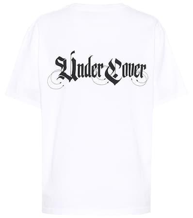 Undercover T-shirt Aus Baumwolle Weiß Freies Verschiffen Am Besten TOptXGFd