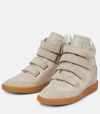 Isabel Marant Bilsy Bilsy Bilsy Sneakers Isabel Leder Sneakers Sneakers Ecru Marant Ecru Aus Aus Leder Isabel Marant wqPFgCv