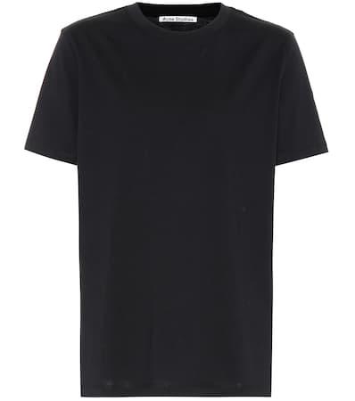 Studios Schwarz shirt Taline Baumwolle Taline Acne Aus shirt Acne T Studios T Aus qt7pF4gx