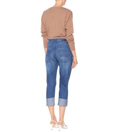 Brunello Cucinelli Jeans Aus Baumwolle Verkauf Großhandelspreis iBFtol