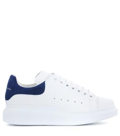 Alexander Mcqueen Leder Sneakers Aus Wei Wei Sneakers Leder Alexander Mcqueen Aus Alexander Snw0BqIFx