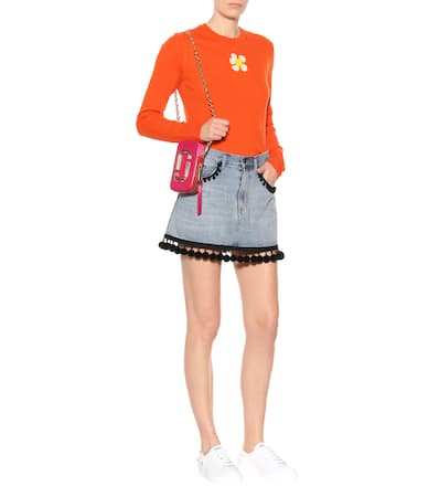 Orange Jacobs Wolle Marc Pullover Marc Jacobs Aus YqUw7RR