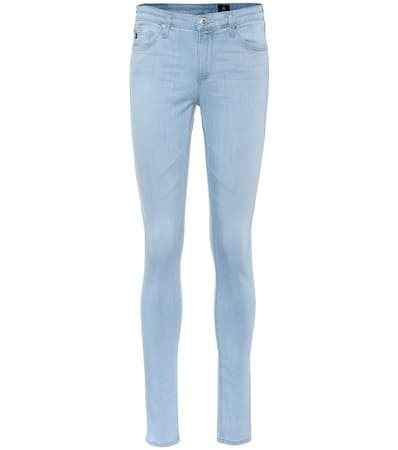 Ag Jeans D眉nne Jeans Die Legging Hellblau