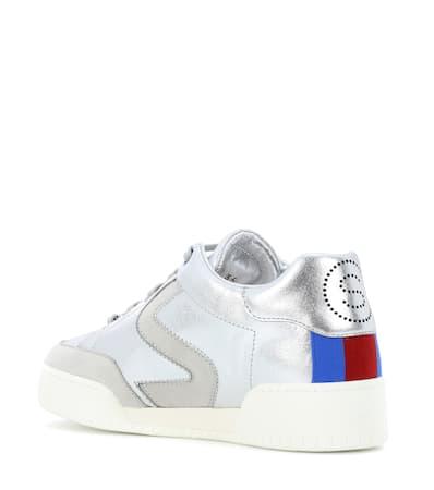Kunstleder Sneakers Aus Stella Stella Mccartney Silber Mccartney Stella AqwqtBxfY