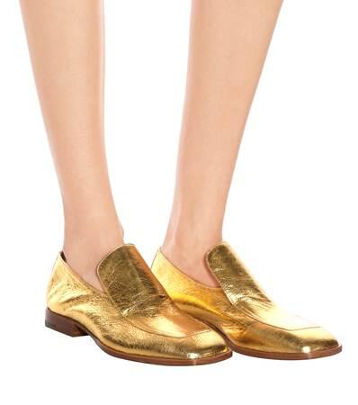 Noten Noten Aus Loafers Gold Van Aus Loafers Van Dries Dries Noten Dries Leder Aus Gold Van Leder Loafers xBqRqpwA