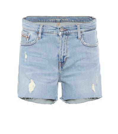 Calvin Klein Jeans Denim-shorts Berlin Blau